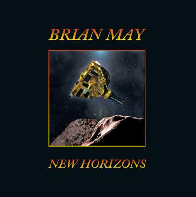 """Brian May - New Horizons 12"""" Single RSD NEW SS Queen"""