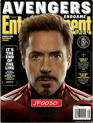 Entertainment Weekly Avengers Endgame 2019, Cover 1 of 6, New/Sealed