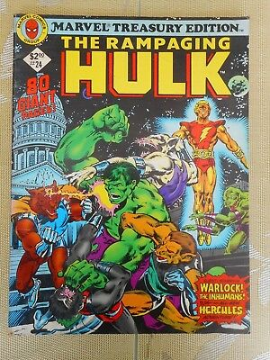 MARVEL TREASURY EDITION THE HULK No. 24