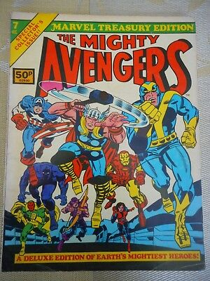 MARVEL TREASURY EDITION No. 7 THE AVENGERS