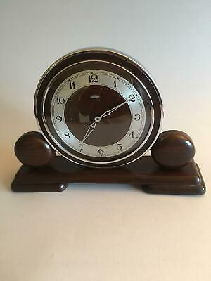 Metemec dereham Art Deco mantle clock fully working