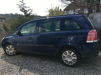 Vauxhall Zafira  -  repair or spares