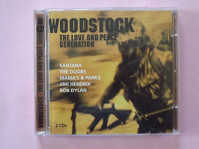 VARIOUS ARTISTS - Woodstock, The Love And Peace Generation / 2CD