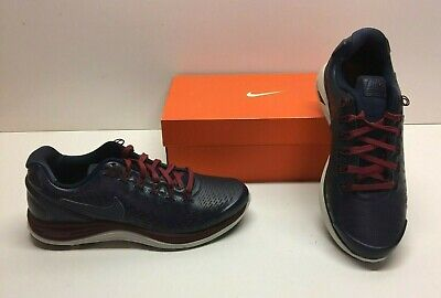b527aaa8f9350 Nike Lunar Glide Lunarglide +4 Running Black Athletic Sneakers Shoes Mens  8.5