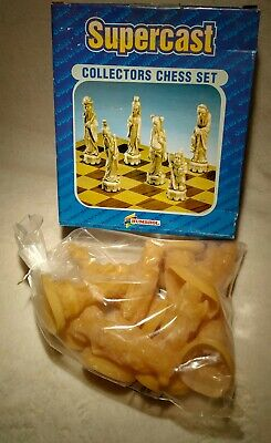 Supercast 9x Chinese Chess Detailed Latex Rubber Moulds Brand New Boxed