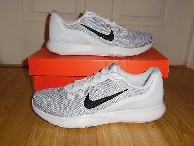 018e78d64b482 NEW box NIKE Flex Trainer 7 Women s Sz 11 Shoes 898479 100 White Metallic  Silver