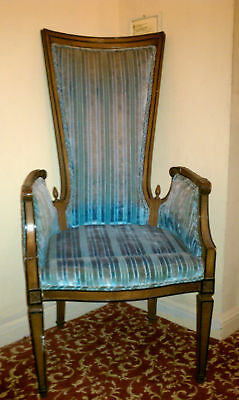 beautiful large antique chair