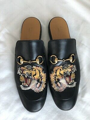 17525dc5f450 GUCCI PRINCETOWN ANGRY Cat Tiger Us Mens 9 -  475.00