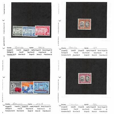 Lot of 60 Grenada & Grenada / Grenadines MH Mint Hinged Stamps #139550 R