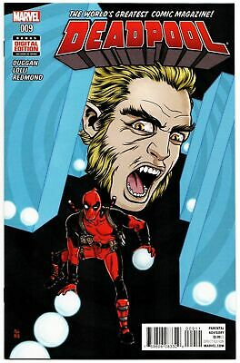 NEAR MINT DEADPOOL # 8 SABRETOOTH!