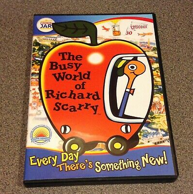 The Busy World of Richard Scarry DVD
