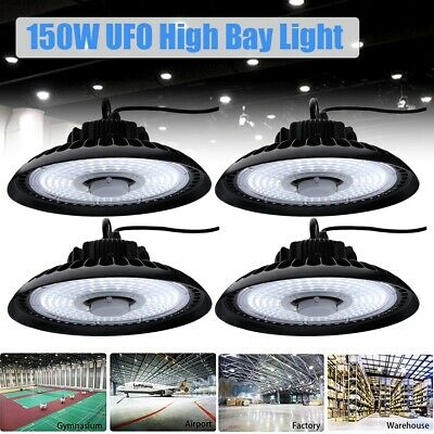 LED High Bay Warehouse Light Bright White Fixture Factory 150W-1000W Equivalent