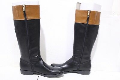 d79a182c0d7 TOMMY HILFIGER WOMEN S Shano-Wc Wide Calf Classic Black US 7.5 ...