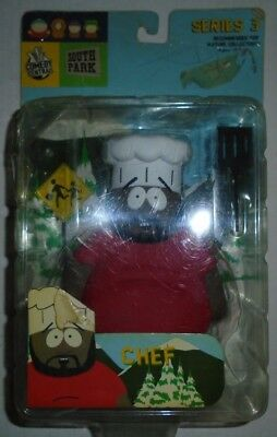 South Park Chef Action Figure Mirage Series 3 2004 Comedy Central