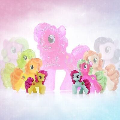 My Little Pony Pinkie Pie Style Horse Mini Loose Figures Cake Toppers Blind Bag