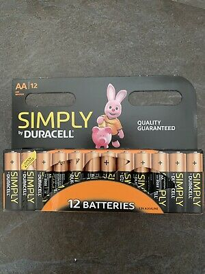 Duracell Simply AA Battery - Pack of 12