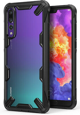 Huawei P20 Pro Case, Ringke [Fusion-X] Clear PC Back TPU Bumper Drop Protection