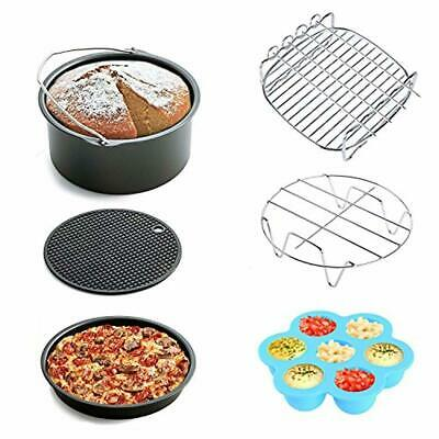 Air Fryer Accessories 6pcs for Gowise Phillips and Cozyna, fit all 3.7QT - 5.3QT