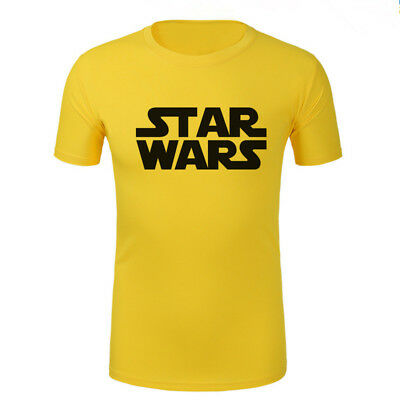 2019 Gym Sport T Shirt Fitness Muscle QUICK DRY Casual Tops Run Star Wars L