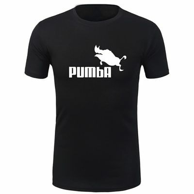 2019 Gym Sport T Shirt Fitness Muscle Quick Dry Casual Tops Run Tee Pumba