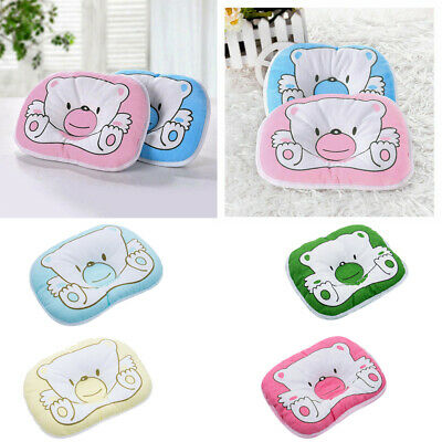 "Baby Toddler Cute Pillow with Cotton Pillowcase Infant Thin Neck Pillow 17""x21"""
