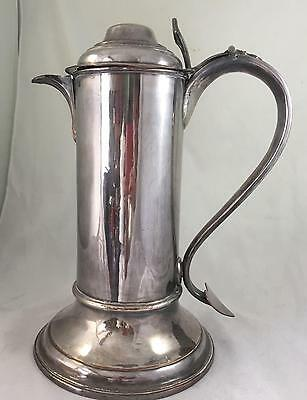 Large Antique Ecclesiastical Silver Plate Altar Jug circa early 19th Century