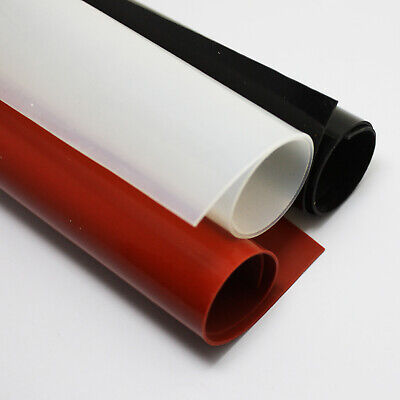 A2 A3 A4 A5 A6 New Red/Black/White Silicone Rubber Sheet Plate Mat 1/2/3/4/5mm