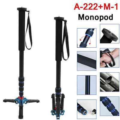 VBESTLIFE Monopod Stand Aluminum Alloy for DSLR Camera with Tripod Stand Base CO