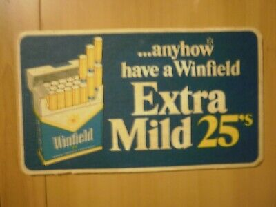 Beer Coaster - Winfield Cigarettes