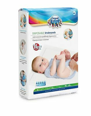 Canpol Babies cb78002u – Pack of 10 Disposable empapadores