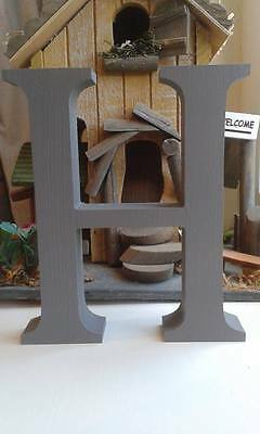 Garden Plaques Wooden individual freestanding Handcut letters var sizes free painting and post