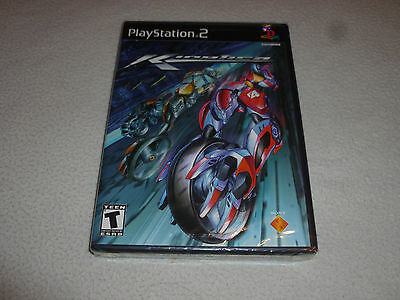 Brand New Factory Sealed Playstation 2 Game Kinetica Ps2 Nfs Sony