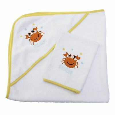 Sensio Baby: Quality Hooded Baby Towel, 100% Natural Cotton, 75x75 cm size