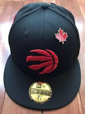detailed look 6e929 22ee0 Toronto Raptors New Era 2018 NBA Draft 59FIFTY Fitted 7 1 8 Hat Cap NWT