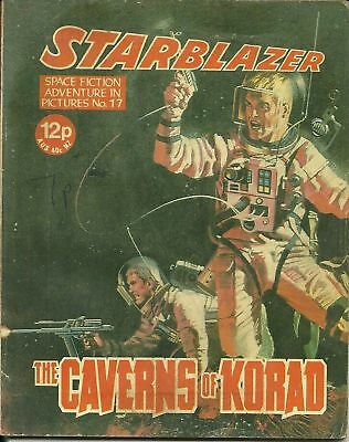 The Caverns Of Korad,starblazer Space Fiction Adventure In Pictures,no.17,1980