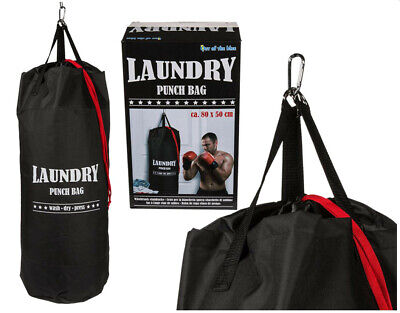 Boxing Punching Punch Laundry Clothes Bag