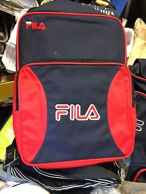 Fila  Backpack Navy / Red 18 Inches Tall £9.99 Bnwl