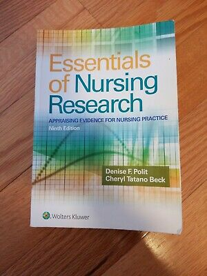 ESSENTIALS OF NURSING Research 9TH EDITION BOOK Appraising