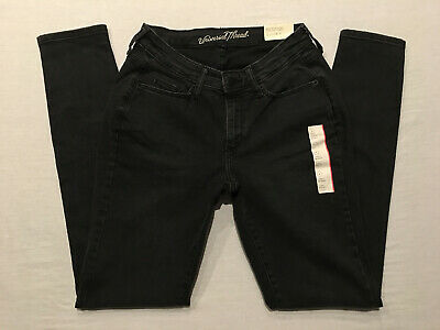 UNIVERSAL THREAD Women's Black Wash Reg. & Long Curvy Skinny Jeans, Sz's 4,6,14