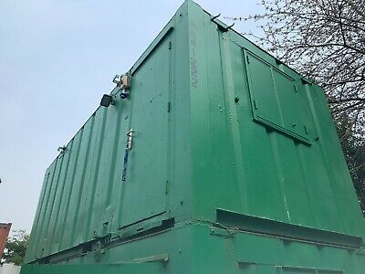 21ft x 9ft SITE CABIN SITE OFFICE PORTABLE BUILDING ANTI VANDAL 3000 + VAT OFFER