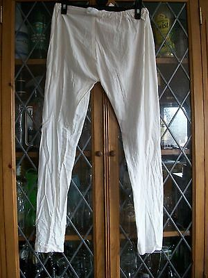 CREAM COTTON FEEL WOVEN INDIAN TROUSERS GIRLS 7Yrs **GC**