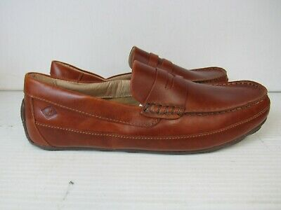14c25c10893 Sperry Top-Sider Men s Slip-On Hampden Penny Loafers STS10721 SZ 9.5 M941