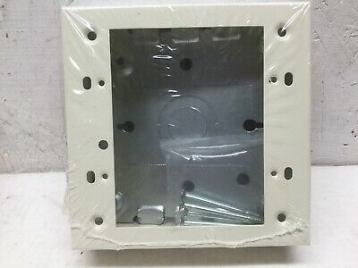 "Wiremold V5748-2 Switch & Receptacle Box 2 Gang 1 3/4"" Deep Ivory (Lot of 5)"