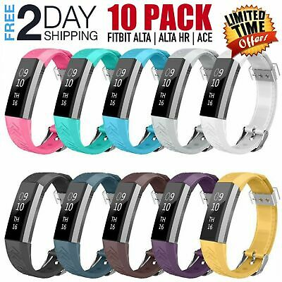 10 Pack Fitbit Alta HR New Replacement Bracelet Watch Band Strap Fitness Tracker