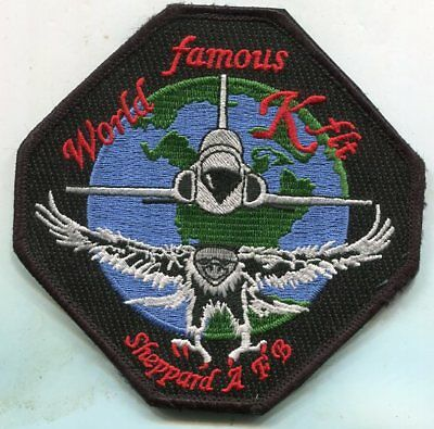 """USAF Patch 90th FLYING TRAINING SQUADRON 4/"""" Size"""