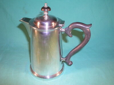 """Chester EP Co 1 and 1/2 Pint Hotel Hot Water Jug Silver Plated - """" The Towers """""""