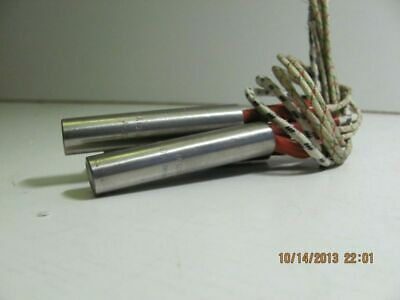 2 WATLOW ST Louis 240V 300W FIREROD 0441 15M  E4A6-KR14 LOT OF