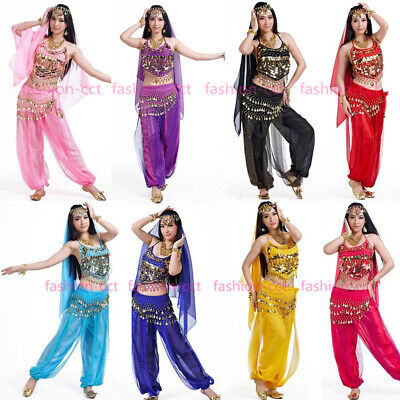 2019 Festival Belly Dance Costume Set Professional Bollywood Carnival Outfit