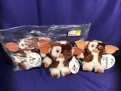 "NECA GREMLINS Mogwai Smile Happy three variant versions Gizmo 6"" Plush Lot"