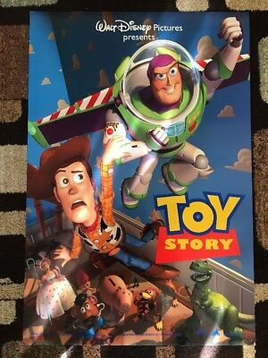 Toy Story Original Movie Poster 27X40 DS 1995 U.S. Ver. B Numbered Pixar